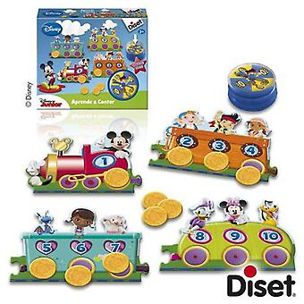 Diset Learn to count Disney Junior (Babies and Children , Toys , Educative And Creative)