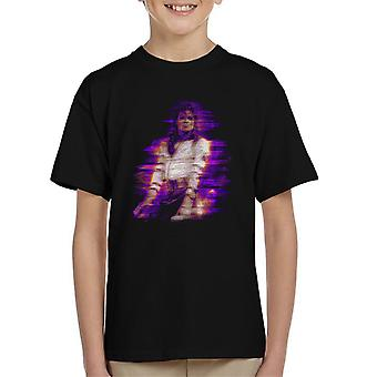 Michael Jackson Bad World Tour 1988 paars Flare Kid's T-Shirt