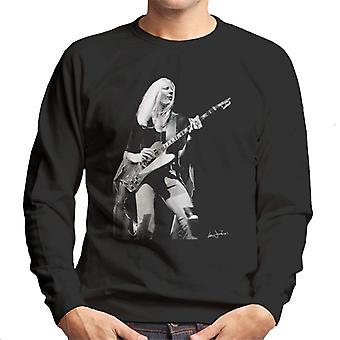 Johnny Winter Gibson Firebird 1974 Men's Sweatshirt