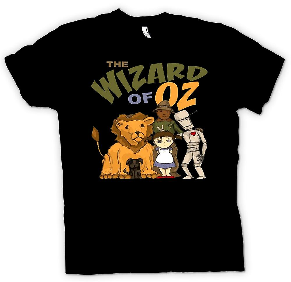 T-shirt-mago di Oz Dorothy Tin Man
