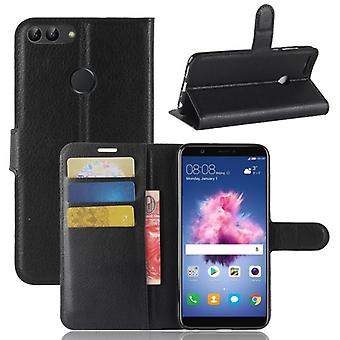 Pocket lommebok premie svart for Huawei nyte 7S / P smart beskyttelse ermet coveret veske nye