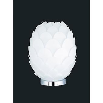 Trio verlichting Choke moderne chroom metalen tafellamp