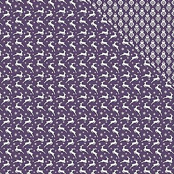 Scrapberry's Elegantly Festive Double-Sided Cardstock 12X12-Reindeer/Beautyberry