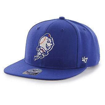 47 fire Snapback Cap - SURE SHOT New York Mets royal