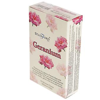 Stamford Incense Cones - Geranium