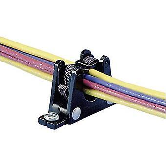 Panduit ER.5-E4-X ER.5-E4-X Cable mount self-sealing Black 1 pc(s)
