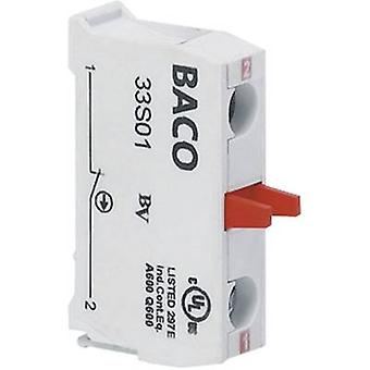 Contacter 1 disjoncteur momentanée 600 V BACO BA33S01 1 PC (s)