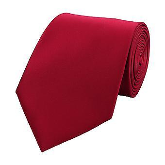 Tie stropdas tie stropdas breed 8cm framboos vlakte Fabio Farini
