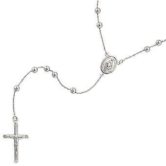 Rosary 925 /-s Rosary chain necklace Rosary silver 60 cm