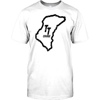 Isle Of Man TT Course - Best Racing In The World Mens T Shirt