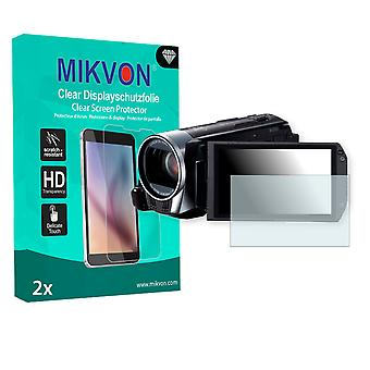 Canon Legria HF R36 Screen Protector - Mikvon Clear (Retail Package with accessories)