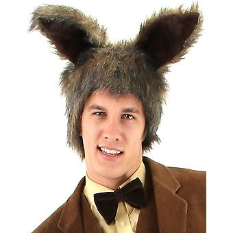 March Hare Alice In Wonderland Easter Bunny Rabbit Men Costume Ears Hat