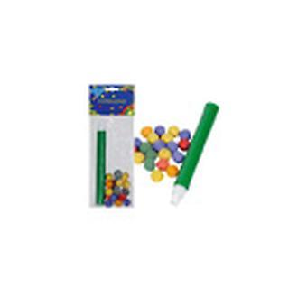 Especial carnaval paquete 40 bolas con soplete