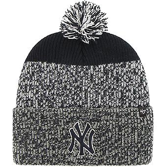 New York Yankees '47 Static Knitted Bobble Beanie Hat