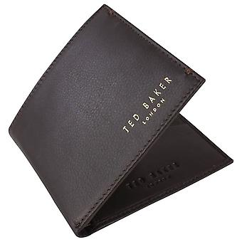 Ted Baker Antonys Bifold Wallet - Dark Brown