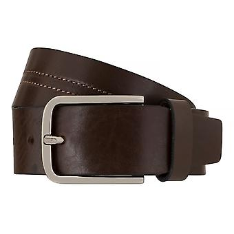 OTTO KERN belts men's belts leather belt Brown 7663
