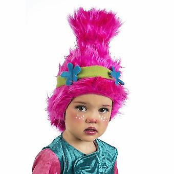 Troll wig children GNOME GNOME children wig pink