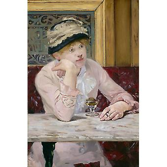 لوس أنجليس الخوخ, إدوارد مانيه, 73(6) × 50.2 سم