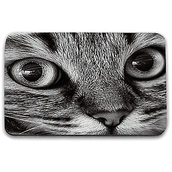 i-Tronixs - Cat Printed Design Non-Slip Rectangular Mouse Mat for Office / Home / Gaming - 18