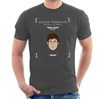 Peli Thrones televisiotoimittajat kysymykset tulevat Miesten t-paita