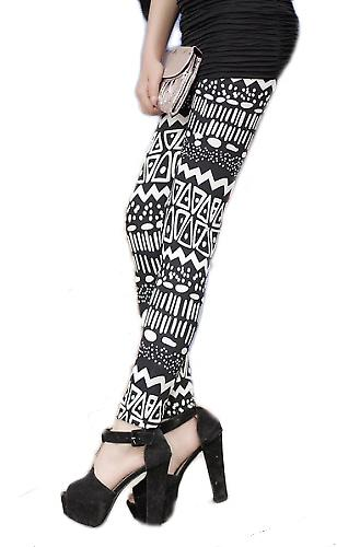 Waooh - Mode - Legging long à motif