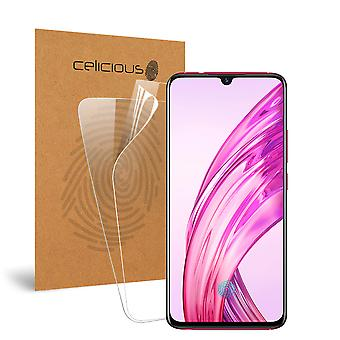 Celicious Vivid Invisible Glossy HD Screen Protector Film Compatible with vivo X23 [Pack of 2]