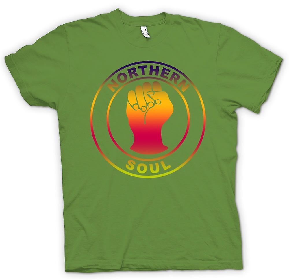 Mens T-shirt - Northern Soul - Fist -