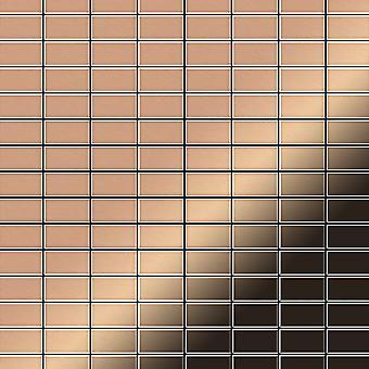 Metal mosaic Copper ALLOY Bauhaus-CM