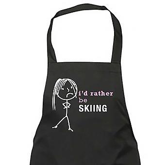 Ich würde eher Ski Damen Schürze