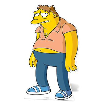 Barney Gumble Lifesize kartonnen uitsnede / Standee (The Simpsons)