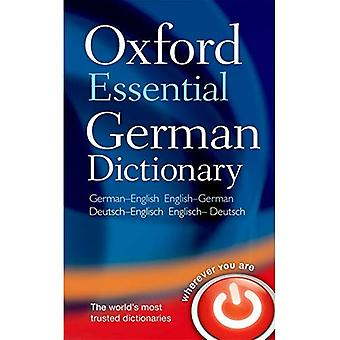 Podstawowe niemiecki słownik Oxford: Ponad 100 000 słów, zwrotów i tłumaczenia. Niemiecki angielski / angielsko niemiecki
