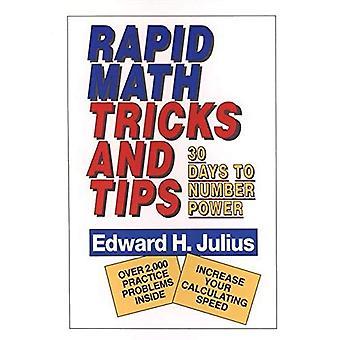Snabb Math Tricks och Tips: trettio dagar till nummer makten