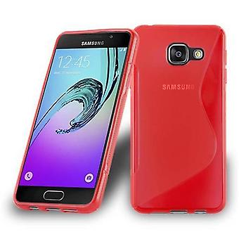 Cadorabo sleeve for Samsung Galaxy A3 2016 - mobile cover from flexible TPU silicone in the S-line design - silicone case cover soft back cover case bumper