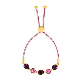 Bertha Jemma Collection Women's 18k YG Plated Fashion Bracelet