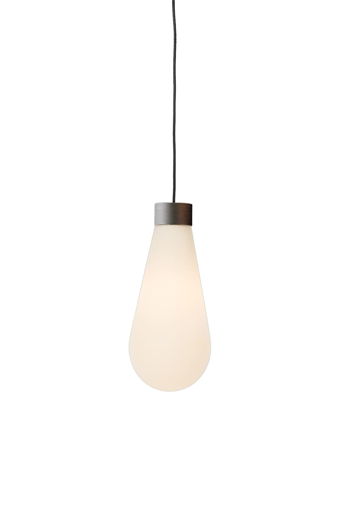 Herstal - Tear LED Pendant Light Graphite, blanc Finish 6075000120