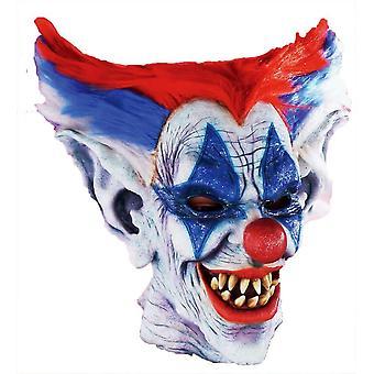 Outta kontrol klovn maske til Halloween