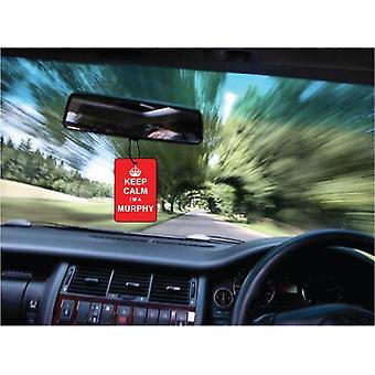 Keep Calm jeg en Murphy bil luftfriskere