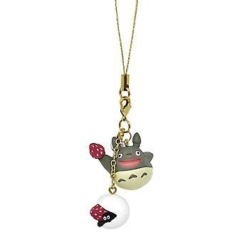 Il mio colore di charms Neighbor Totoro Bagclip: oro. Materiale: metallo.