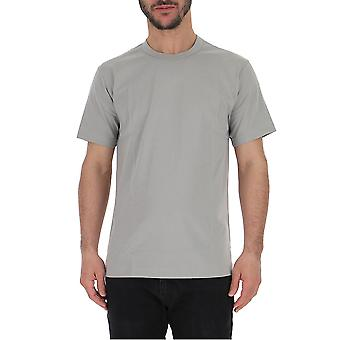 Comme Des Garçons Grey Cotton T-shirt