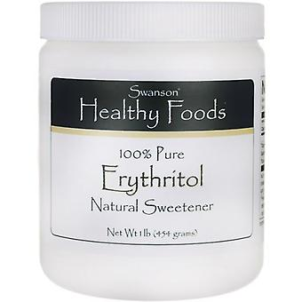 Swanson Erythritol 100% Pure Natural Sweetener 454 gr (Diet , Sweeteners)