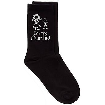 I'm The Auntie Black Socks