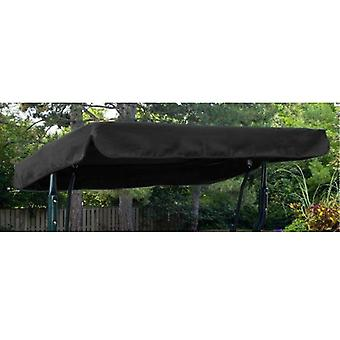 Gardenista® Black Replacement Canopy for 2 Seater Argos Malibu Swing Seat