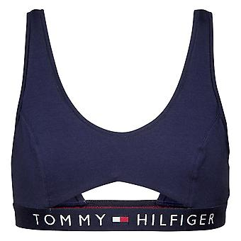 Tommy Hilfiger Original Cotton Cut Out Bralette - Navy Blazer