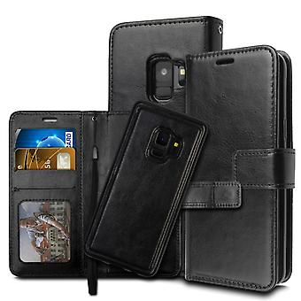 Portefeuille Case/Magnetic shell Samsung S9-Black