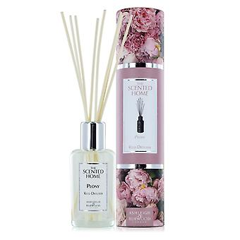 Ashleigh & Burwood Scented Home 150ml Reed Diffuser Fragrance Gift Set Peony