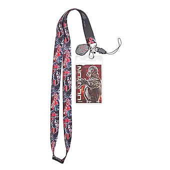 Lanyard - Marvel - Avengers 2 - Ultron w/Soft Dangle Hang Tag New 68396