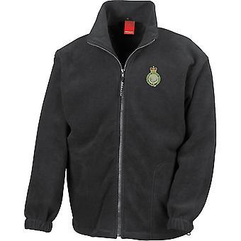 Sherwood Rangers Yeomanryregimenter-lisensiert britiske hæren brodert tung vekts fleece jakke