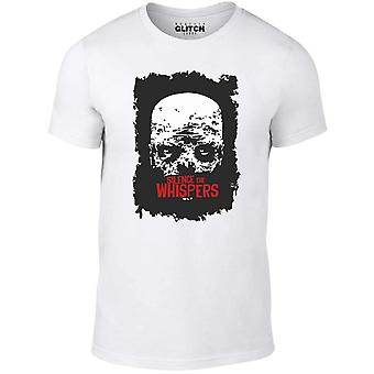 Men-apos;s silence le t-shirt chuchotements