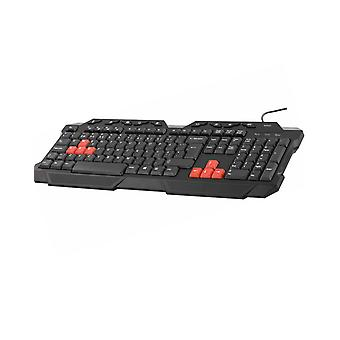 DELTACO GAMING Tastatur, Nordisches Layout, Anti-Ghosting