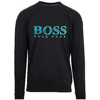 Boss BOSS Black Rubber Logo Sweatshirt